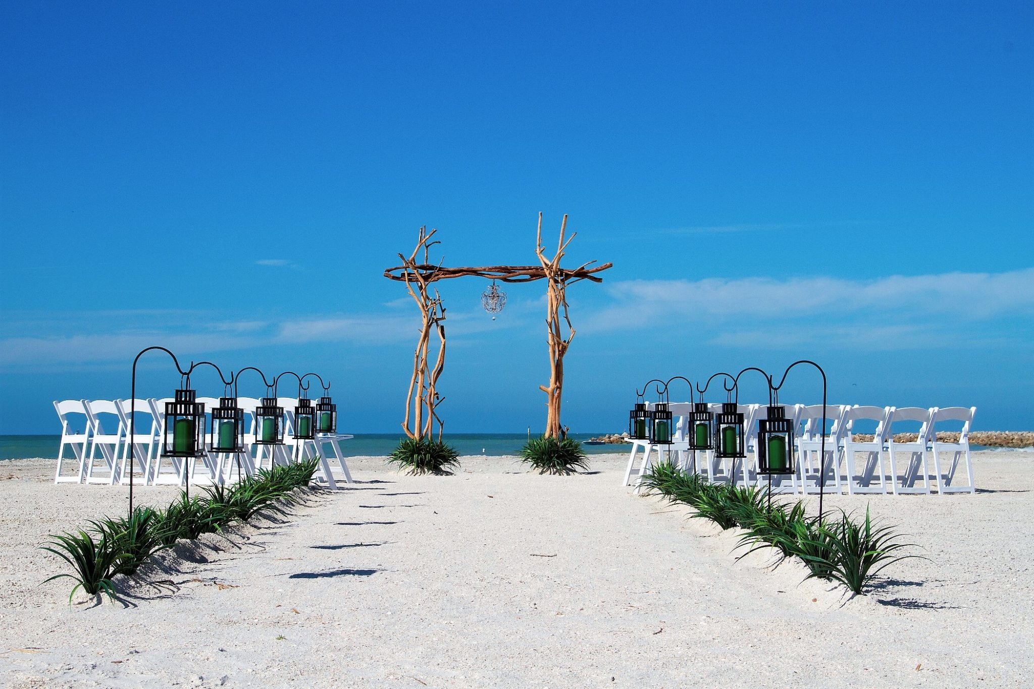 Driftwood Arch, Beach Weddings