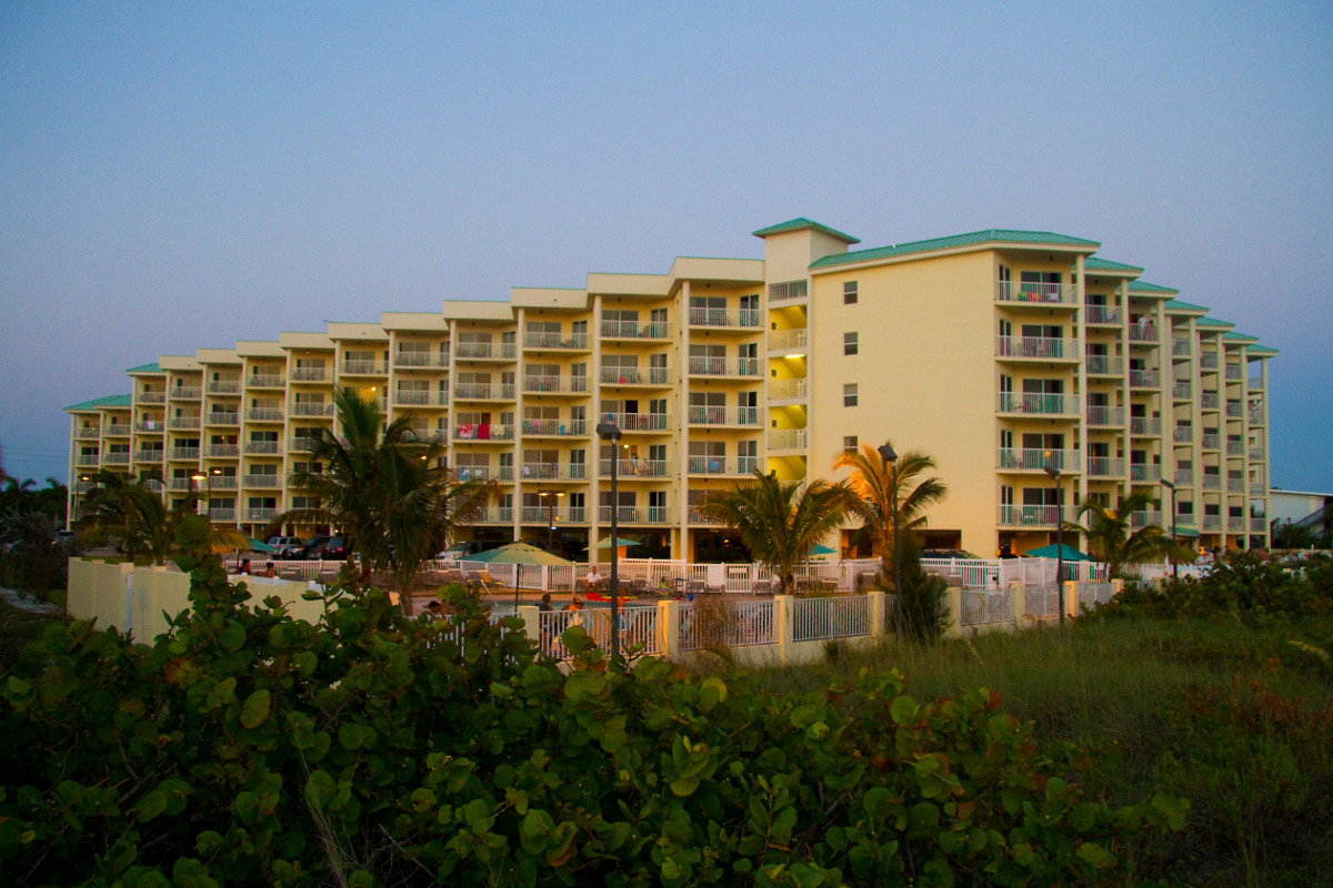 Sunset Vistas Beachfront Suites, Treasure Island Florida