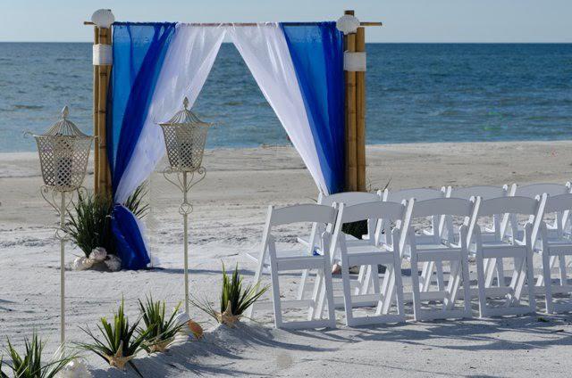 Elegant Beach Wedding Sand Key Weddings Florida