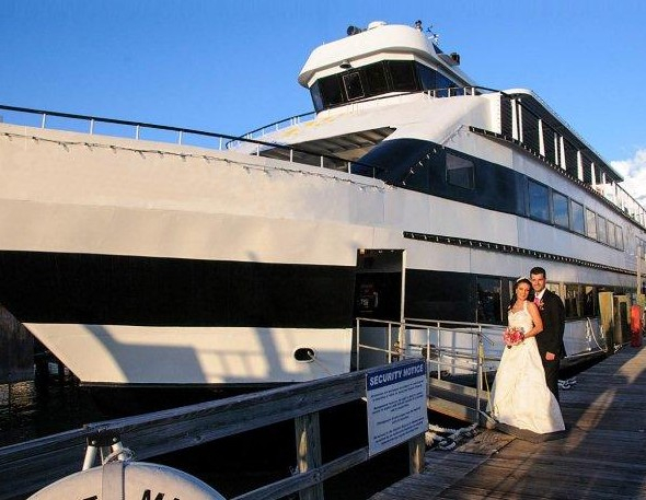 Dinner Cruise Reception Weddings On A Whim 727 581 3446
