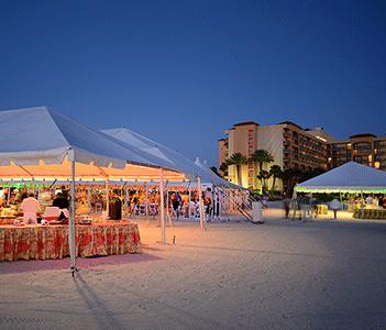 Sheraton Beachside Reception