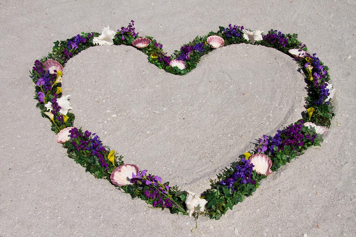 Purple Heart Wreath Altar